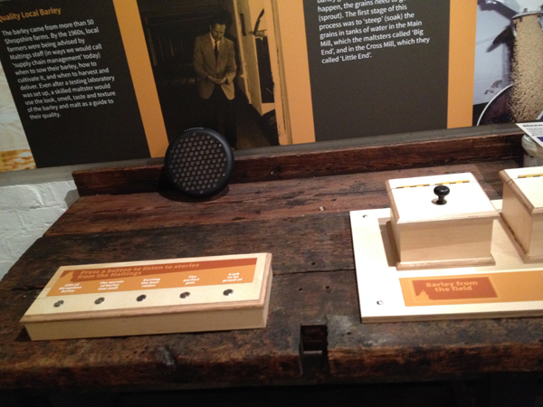 Shrewsbury Flax Mill Maltings audio exhibit