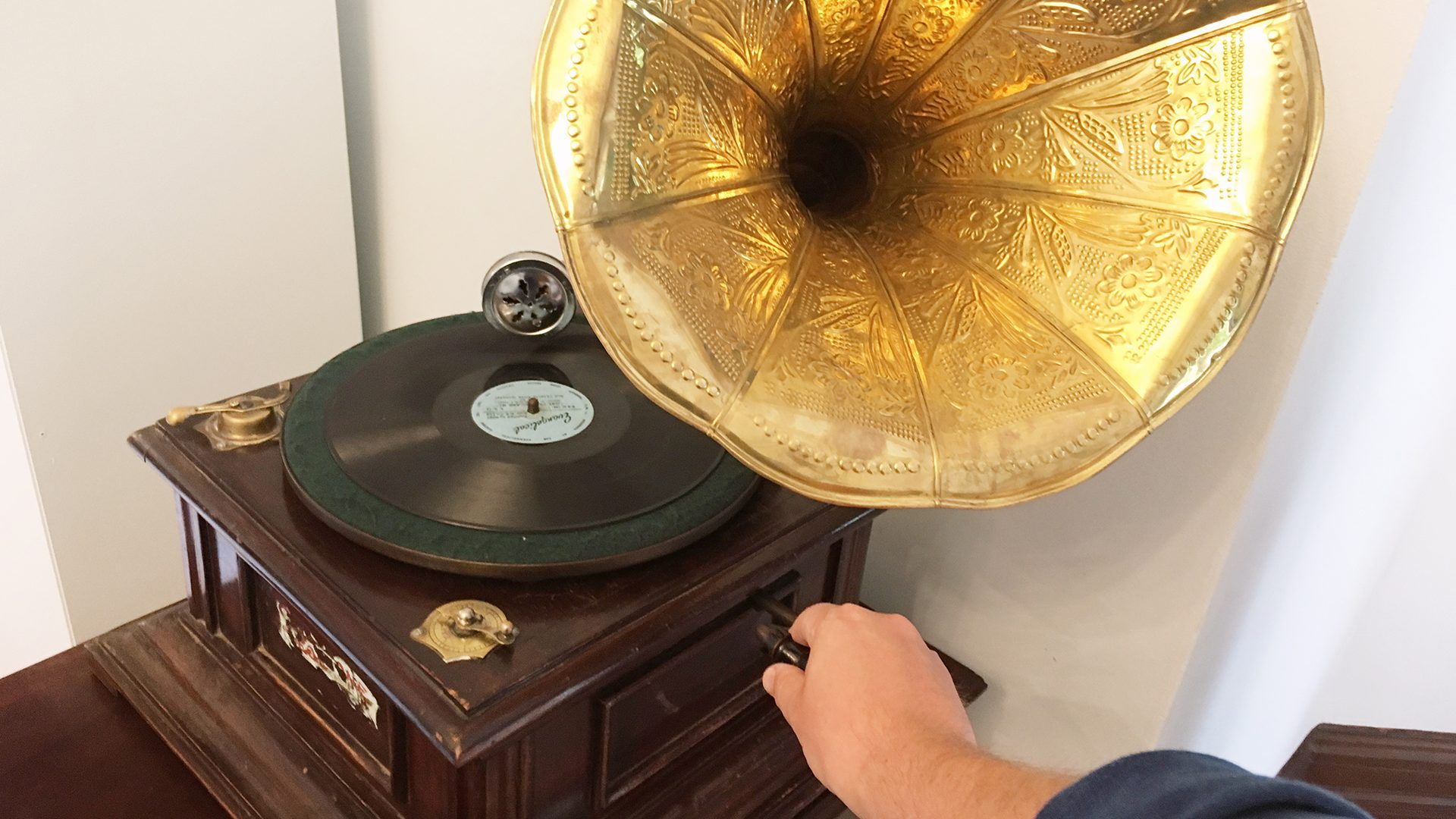 Wardown House gramophone