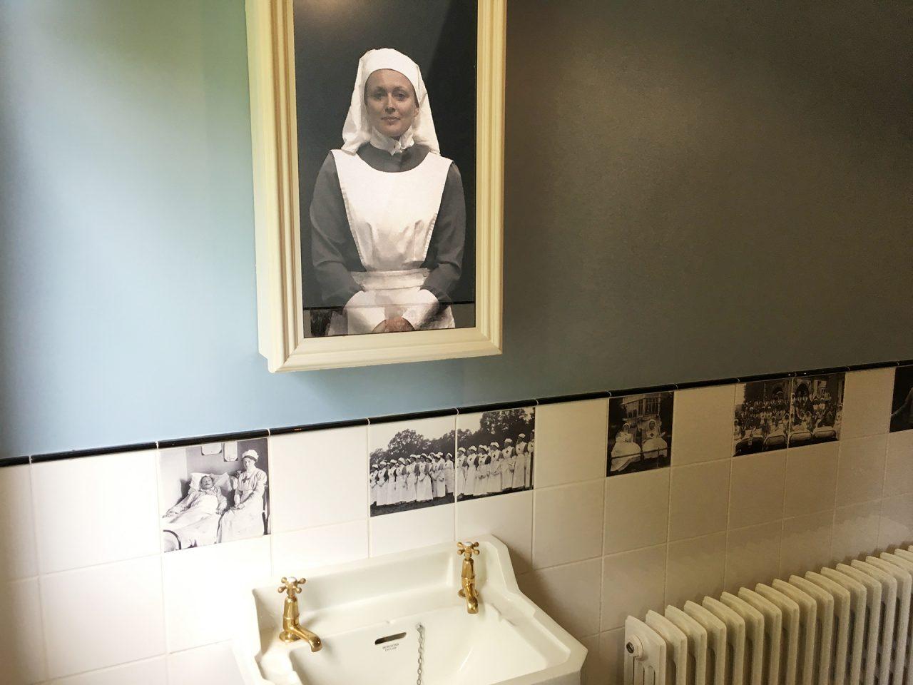 Wardown House mirror interactive