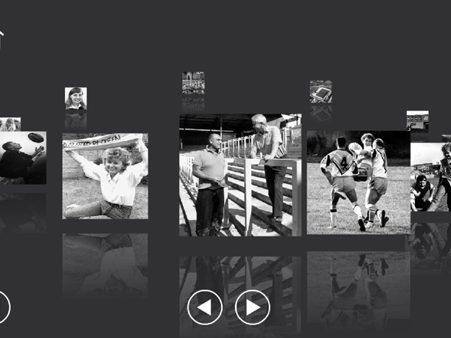 Castleford Rugby interactive exhibit 1