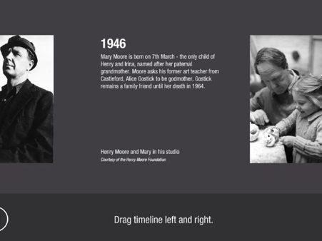 Henry Moore interactive exhibit 1