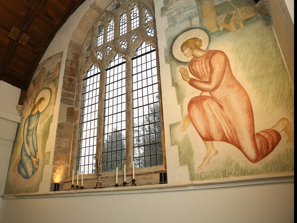 St Martins Church mural